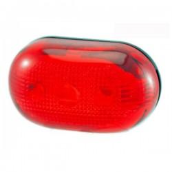 ΠΟΔΗΛ.ΦΑΝΟΣ ΟΠΙΣΘΙΟΣ GLOBE 5 RED LED