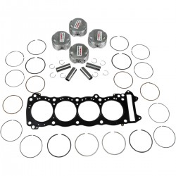 PARTS ΠΙΣΤΟΝΙΑ ΚΟΜΠΛΕ ΜΕ ΦΛΑΝΤΖΑ WISECO TOP END PISTON KIT GSX1300 99/07