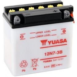 ΜΠΑΤΑΡΙΑ YUASA 12Ν7-3B/YB7L-Β - +
