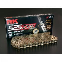 PARTS ΑΛΥΣΙΔΑ RK XRING 525-112 GOLD GB525ZXW 112 LINK 525 XW-RING