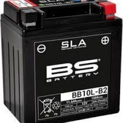 ΜΠΑΤΑΡΙΑ BS BATTERY BB10L-A2 BB10L-B2 SLA - +(YB10L-B2-YB10L-A2)
