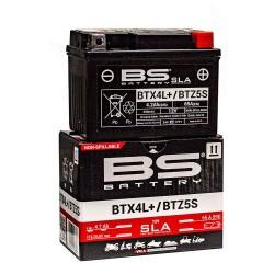 ΜΠΑΤΑΡΙΑ BS BATTERY BTZ5S-YTZ5S-BTX4L-BS  - + (YTZ4V) SLA ΕΤΟΙΜΗ ΠΡΟΣ ΧΡΗΣΗ