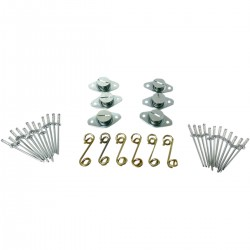 PARTS ΚΙΤ ΚΟΥΜΠΩΜΑΤΑ CYCLE PERFORMANCE FASTENER SELF EJECTING KIT WITH SPRINGS RACE QTY 6