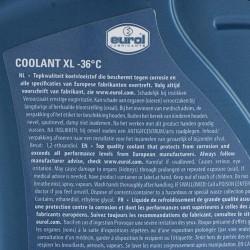 ΠΑΡΑΦΛΟΥ EUROL COOLANT XL -36 C ΚΙΤΡΙΝΟ 1L