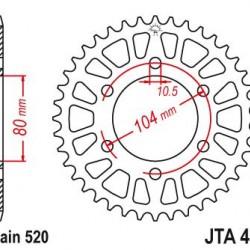 ΓΡΑΝΑΖΙ JT JTA478-44