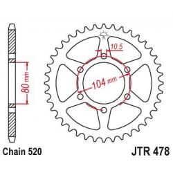ΓΡΑΝΑΖΙ JT JTR478-43