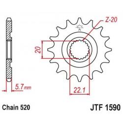 ΓΡΑΝΑΖΙ JT JTF1590-14 WR250/YZ125/YZ250