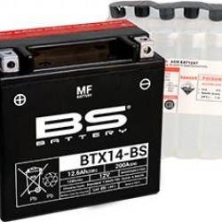 ΜΠΑΤΑΡΙΑ BS BATTERY BTX14-BS-YTX14-BS + -
