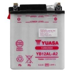ΜΠΑΤΑΡΙΑ YUASA YB12AL-Α - +