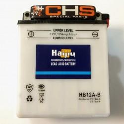 ΜΠΑΤΑΡΙΑ HAIJIU YB12A-Β/HB12A-B Μ/Υ + -