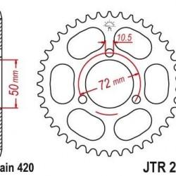 ΓΡΑΝΑΖΙ CHIAR 0213-38 NSR50 JTR216