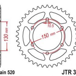 ΓΡΑΝΑΖΙ 0305-47 ΝΧ650 JT0245/3